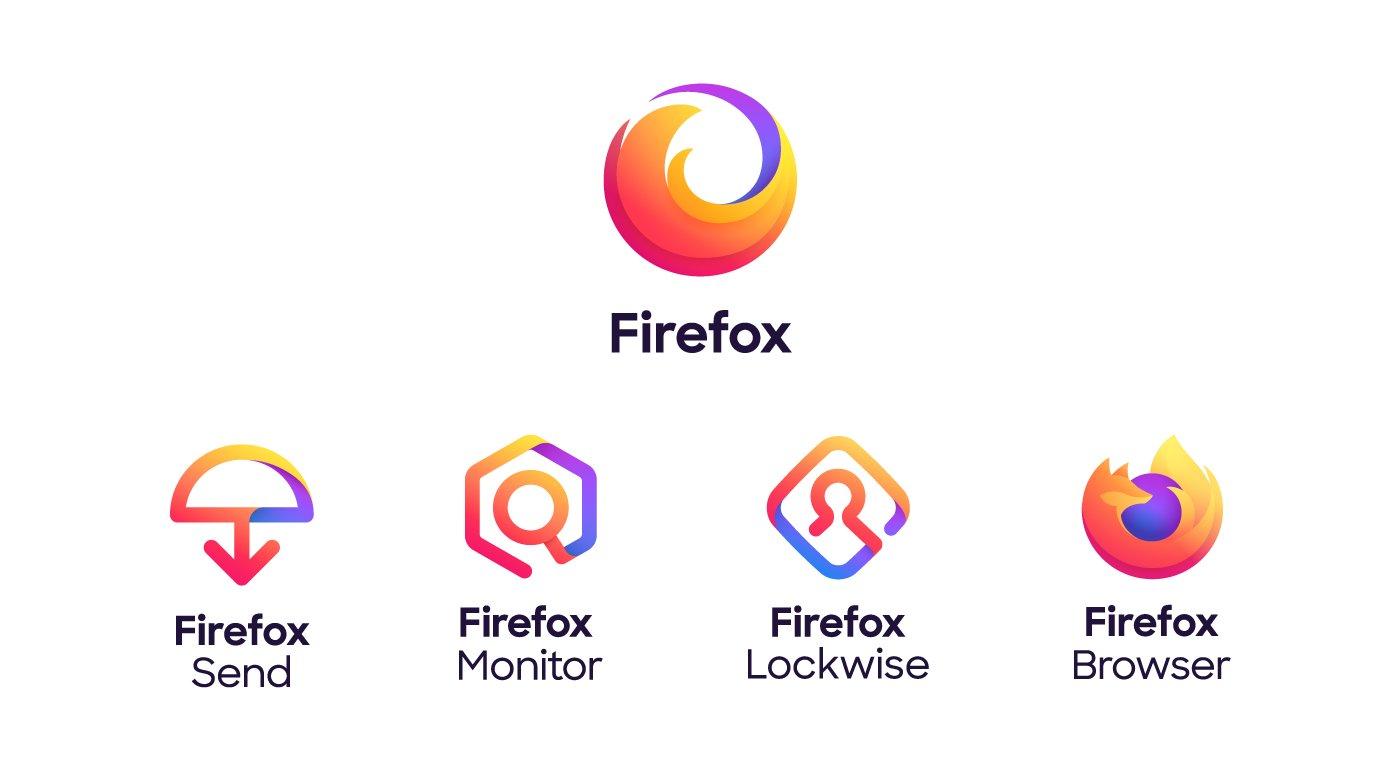 """""""nouveau logo de Firefox sans le fox"""""""